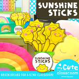 Sunshine Sticks - A Kindness Brain Break Activity