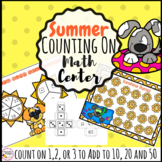 Summer Math Center Counting on addition