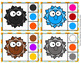 Sunshine Summer Color Match Clip Cards and Memory Game