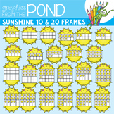 Sunshine Ten and Twenty Frame Clipart