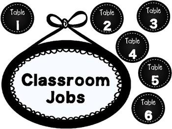 Sunshine Themed Classroom Decor - Classroom Jobs