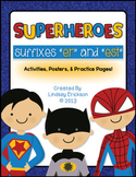 "Sup-ER-heroes! (Adding ""-ER"" and ""-EST"")"