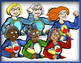 Supehero Female Teachers: 50 Pc. Clip-Art Set