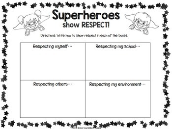 Supeheroes R.O.C.K the C.A.P.E: Student Reflection Workbook
