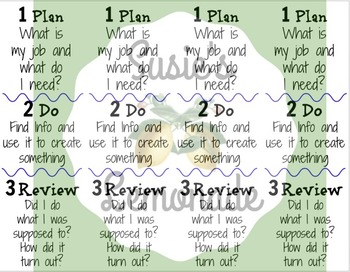 Super 3 Research Skills Bookmark, Chart or Poster
