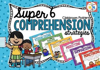 Super 6 Comprehension Posters