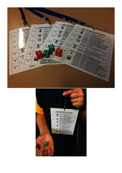 Super 6 Focus on Reading Dice Comprehension Game