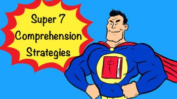 Super 7 Comprehension Strategies Pack
