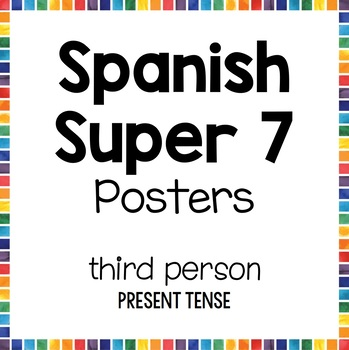 Super 7 Spanish Posters - 3rd Person