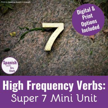 Super 7 Verb Mini-Unit