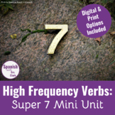 Super 7 Verb Mini-Unit