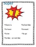 ESL Super 7 Verbs: Spanish/English