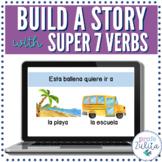 Super 7 Verbs Story Creator | Present Tense