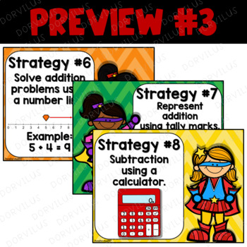 Super Addition and Subtraction Strategies