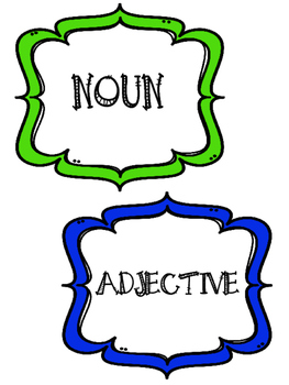 Super Adjectives Activity