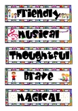 Super Adjectives Banners