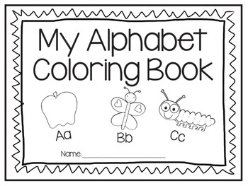 Alphabet Activities Bundle (3 products in one)