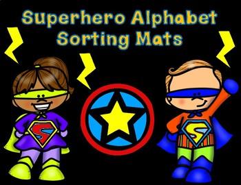 Super Alphabet Sorting Mats