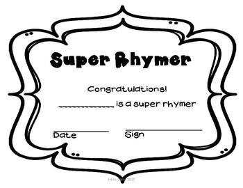 Super At Rhyming