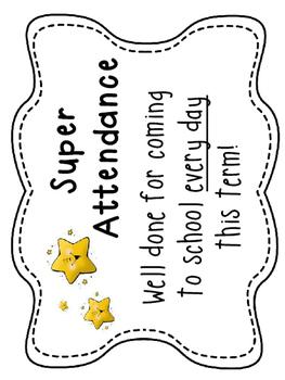 Super Attendance Award