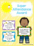 #ausbts18 Super Attendance Award
