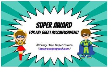 Super Award (FREE)