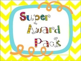 Super Awards Pack Freebie