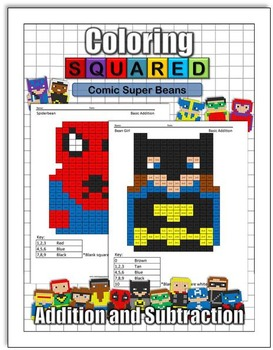 Super Bean Comics: Addition and Subtraction