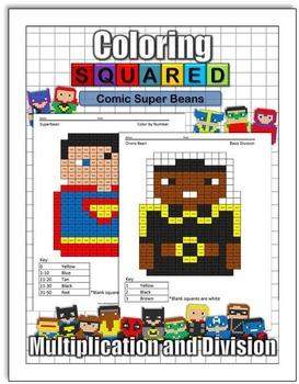 Super Bean Comics: Multiplication and Division