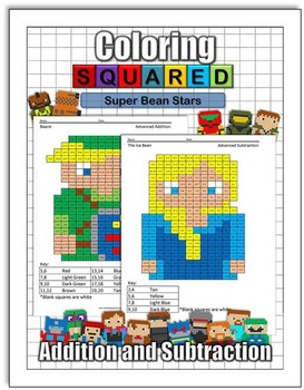 Super Bean Stars: Addition and Subtraction