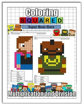 Super Bean Stars: Multiplication and Division