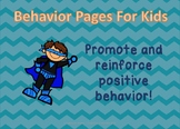 Super Behavior ~ Positive Reinforcement Charts