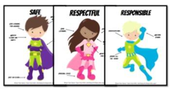 Super Behavior Posters (FREE)