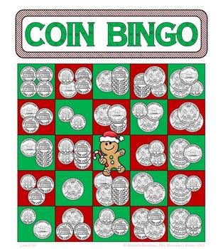 Money Math - Super Bingo Bundle - 5 Coin Counting Bingo Games + Bonus Game!