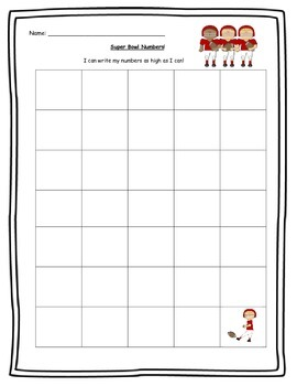 Super Bowl 2015 Math and Literacy Activities
