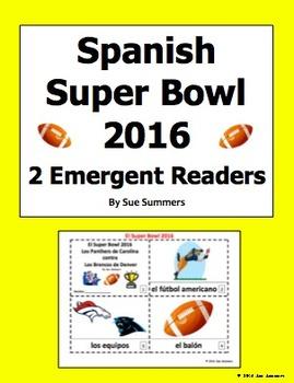 Super Bowl 2016 - 2 Booklets in Spanish