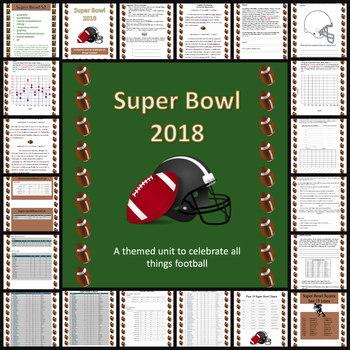 Super Bowl 2017 Cross-Curricular Activity Packet