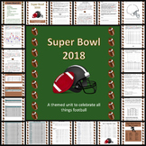 Super Bowl 2018 Cross-Curricular Activity Packet