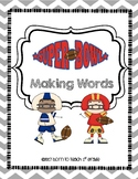 Super Bowl 2017 Making Words