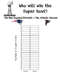 Super Bowl 2017 Prediction Math