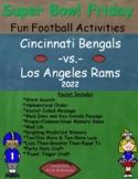 Super Bowl 2018 - Super Bowl Friday Activities