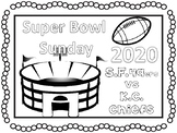 Super Bowl 2019 coloring pages and activities #sbdollardeal