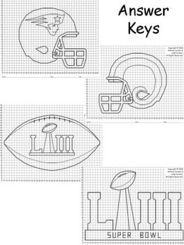 Super Bowl 2019 Bundle Mystery Pictures (1-Quadrant)