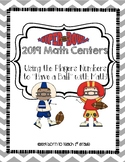 Super Bowl 2019 Math Centers: Using Players Numbers to Hav