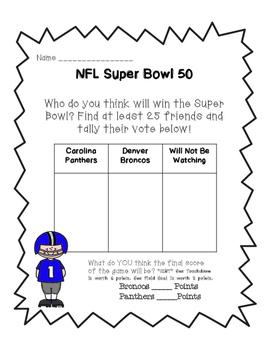Super Bowl 50 Including Roman Numerals