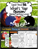Super Bowl 52 Opinion Writing (Growing Bundle)