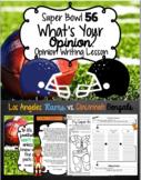 Super Bowl 51 Opinion Writing (Growing Bundle)
