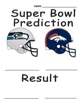 Super Bowl Activities 2014