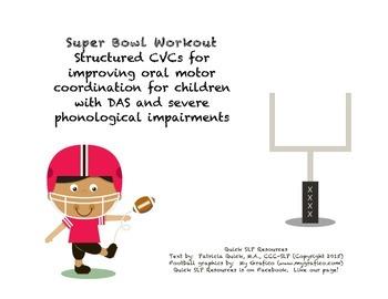 Super Bowl Apraxia Workout