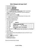Super Bowl Assignment using Excel and Word